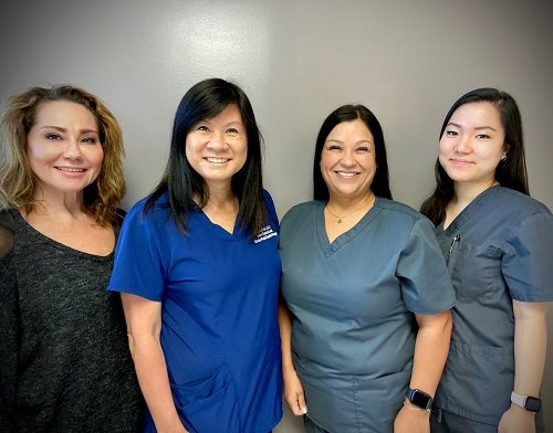 Picture of the staff in the practice of Melanie Ho Erb, M.D.